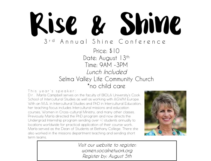 Rise and Shine Info